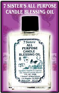 7 Sisters Candle Blessing Oil All Purpose