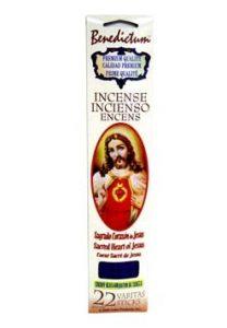 Benedictum Stick Incense Sacred Heart Of Jesus